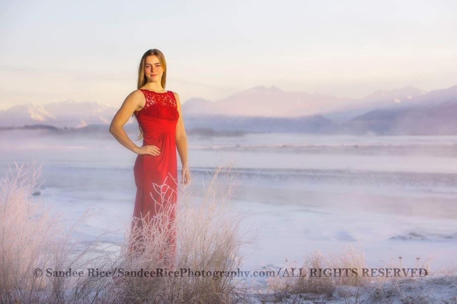 Red dresses nsnow